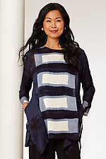 Plank Swallowtail Tunic by Michael Kane (Shibori Tunic)