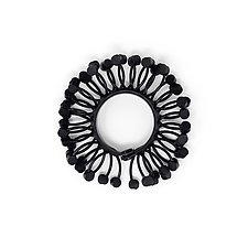 Deco Dot Bracelet by Kathleen Nowak Tucci (Rubber & Polymer Bracelet)