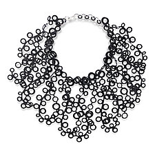 Elizabeth Necklace by Kathleen Nowak Tucci (Rubber Necklace)