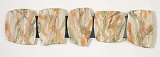 Windows Into the Forest by Kristi Sloniger (Ceramic Wall Sculpture)