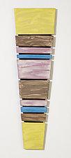 Horizon Color Block by Kristi Sloniger (Ceramic Wall Sculpture)