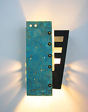 May Wall Sconce by Dale Jenssen (Art Glass Wall Sconce)