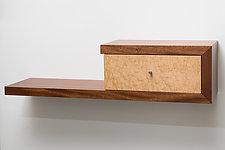 Clavigerous Floating Shelf by Todd Leback (Wood Shelf)