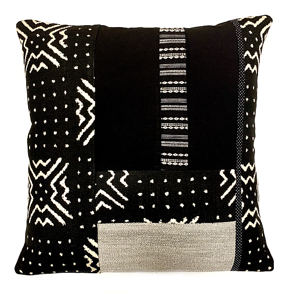 Just Black. Just White Pillow