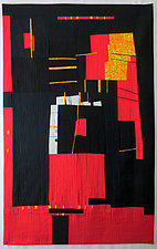 Red Flags by Aryana Londir (Fiber Wall Hanging)