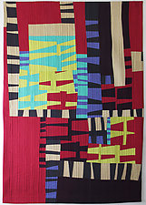Interference by Aryana Londir (Fiber Wall Hanging)