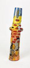Ghost of a Chorus Girl by Rebecca Zweibel (Ceramic Sculpture)