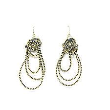 Zest Zipper Earrings by Kate Cusack (Zippered Earrings)