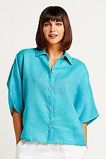 Linen Boxy Shirt by Planet (Linen Top)