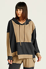 Patched Up Hoodie by Planet (Knit Top)