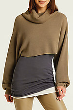 Waffle Shrug Sweater by Planet (Knit Sweater)