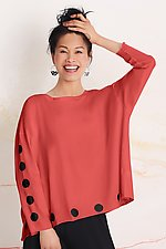Polka Dot Boxy Tee by Planet (Knit Top)