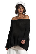 Off Shoulder Sweater by Planet (Knit Sweater)