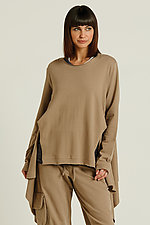 Side Drape Top by Planet (Knit Top)