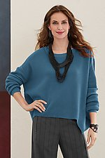 Grid Stitch Sweater by Planet   (Knit Sweater)