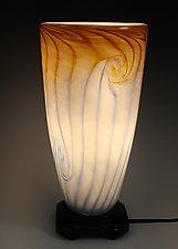 Tall Uplight by Mark Rosenbaum (Art Glass Table Lamp)