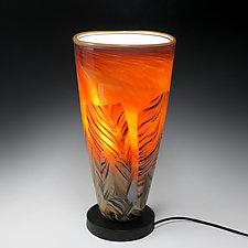 Transformation Uplight by Mark Rosenbaum (Art Glass Table Lamp)