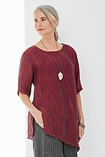 Calabria Tunic by Carol Turner  (Linen Tunic)