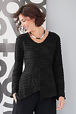 Fiore Notch Top by Carol Turner  (Woven Top)