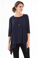 Striped Mystic Tunic by Carol Turner  (Knit Tunic)