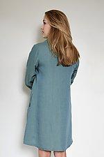 Collared Long Tunic by Carol Turner (Linen Tunic)