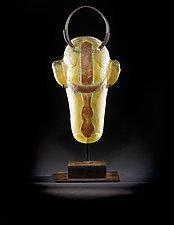 Spirit Animal by Marlene Rose (Art Glass Sculpture)