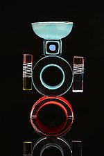 Tuktuk by Benjamin Silver (Art Glass Candleholder)