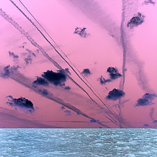 Traces and Trails 1 by Marcie Jan Bronstein (Color Photograph)
