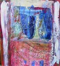 Kobenhaven ll by Maren Larson (Mixed-Media Painting)