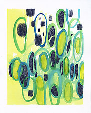 Loopology by Teresa Cox (Watercolor Painting)