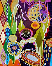 Geo Garden by Teresa Cox (Acrylic Painting)