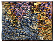 Reflecting Sea IV by Tim Harding (Fiber Wall Hanging)
