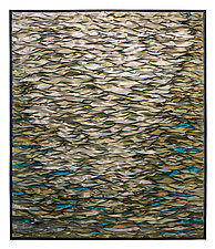 Celadon Sea by Tim Harding (Fiber Wall Hanging)