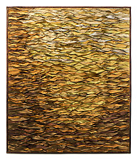 Amber Sea by Tim Harding (Fiber Wall Hanging)
