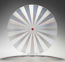 U R Here by Kathleen Ash (Art Glass Bowl)