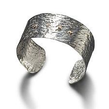 Phaedra Cuff Bracelet by Randi Chervitz (Silver & Stone Bracelet)