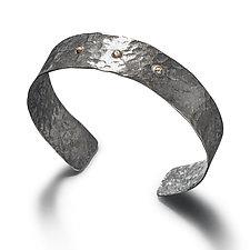 Phaedra Demi Cuff Bracelet by Randi Chervitz (Silver & Stone Bracelet)
