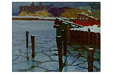 Ice Tug by Jeff Darrow (Oil Painting)