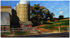 Farm on Holy Hill Road by Jeff Darrow (Acrylic Painting)
