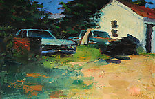 Wichita Garage by Jeff Darrow (Oil Painting)