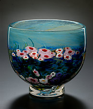 Landscape Series Bowl by Shawn Messenger (Art Glass Bowl)