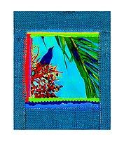 Bird in Palm by Jane Sterrett (Giclee Print)