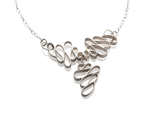 Tri-Squiggle Necklace