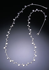 Sterling Dot Necklace by Ken Loeber and Dona Look (Silver Necklace)