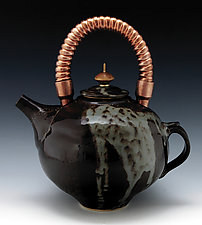 Stoneware Teapot 42 by Ron Mello (Ceramic Teapot)