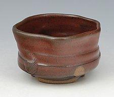 Wheel Thrown and Altered Tea Bowl by Ron Mello (Ceramic Bowl)