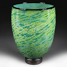 Alpine Avalanche Studio Sample by Eric Bladholm (Art Glass Vase)