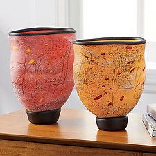 Octave Vase by Eric Bladholm (Art Glass Vase)