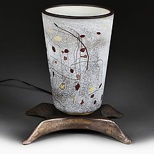 Birch Ballad by Eric Bladholm (Art Glass Table Lamp)