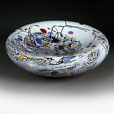 Mosaic Medley by Eric Bladholm (Art Glass Vessel)